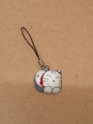 前島手描きアクセサリー猫