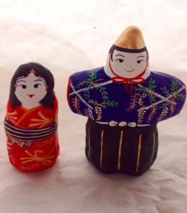 張子の雛人形