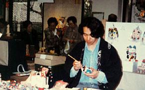 張子絵師二代目五十嵐俊介氏