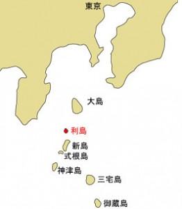 利島の位置