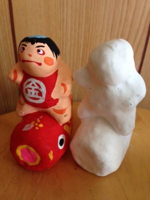 張子の五月人形小型2