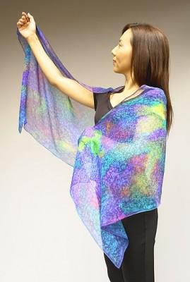 世界で一つのオリジナルスカーフを作ってみませんか?