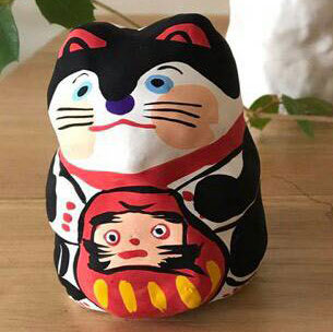Workshop example lucky cat