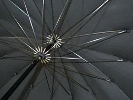 傘のろくろダボ包み