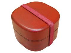 刷毛目塗りの弁当箱