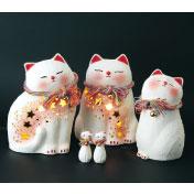 縁起物の陶器展・陶器の猫お地蔵様作り体験(北海道 夢陶房パレット)